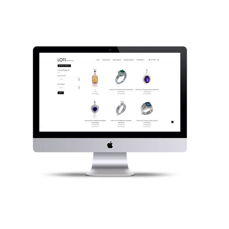 Grand launching our e-commerce website! Visit our online store and get special price. klik www.loti.jewelry
