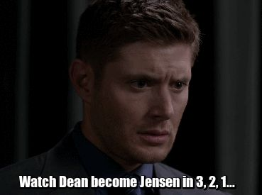 200th SPN episode - I screamed so loud when he did this. Definitely one of my favorite moments from fanfic.