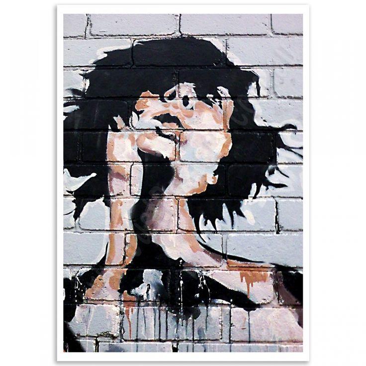 Street Art Poster - Newtown Girlfriend