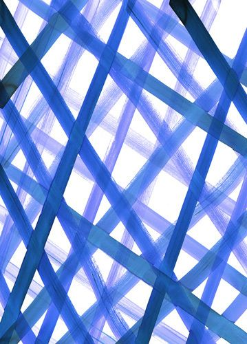 Criss Cross Blue Art Print by Amy Sia at King & McGaw + 25% off ends today