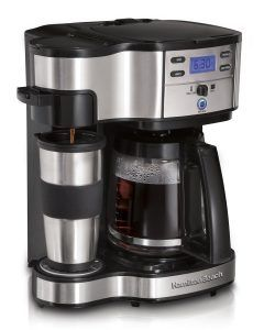 Hamilton Beach 49980a Review. Hamilton Beach 49980A Single Serve Coffee Brewer and Full Pot Coffee Maker, 2-Way.