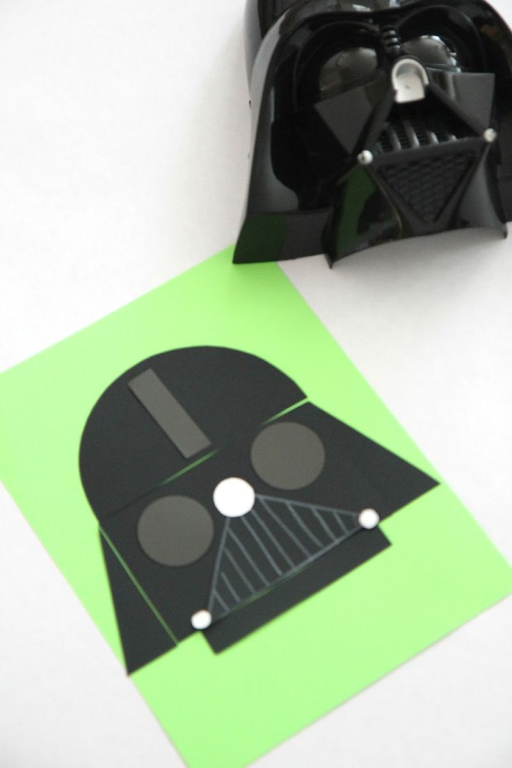 Toddler Approved!: Star Wars Shape Crafts and Lightsaber Review