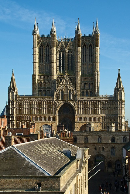U.K. Lincoln cathedral in 2015. 921 years ago it was consecrated! For 238 years it was the tallest building in the World!