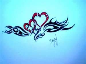 Image detail for -hearts tribal heart tattoos