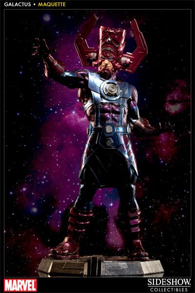 Sideshow Collectibles - Galactus Maquette Manufactured by: Sideshow Collectibles Price: US $799.99 What could be better to top off Earth Day than a statue of a guy who wants to eat it whole. Nom.