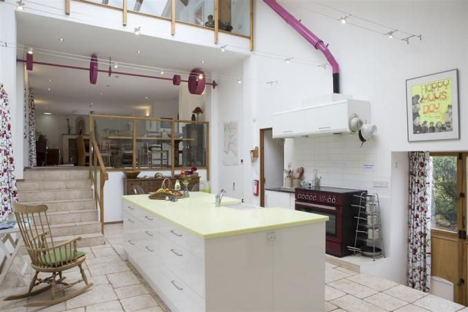 The magnificent kitchen at Waterhead Barn