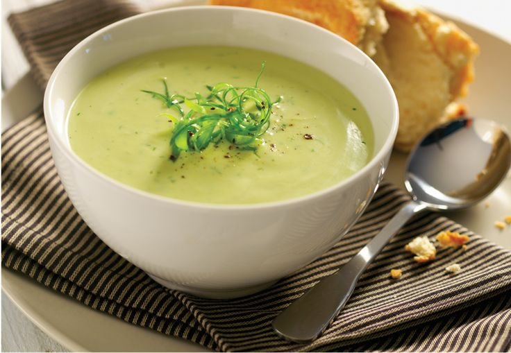 Avocado and Dill Soup