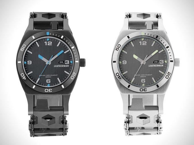 Leatherman Tread Tempo watch brand extension on Collaboration Generation – the latest and best in brand innovation