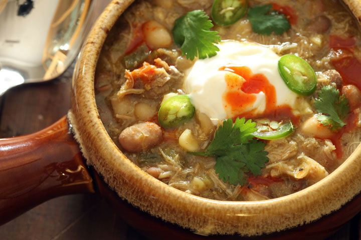 Knorr homestyle stock chicken chili verde with poblanos