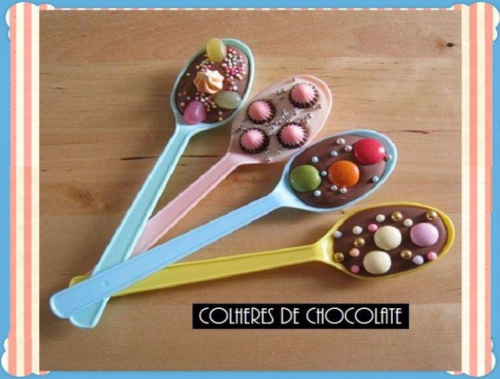 Kουταλάκια σοκολατας!