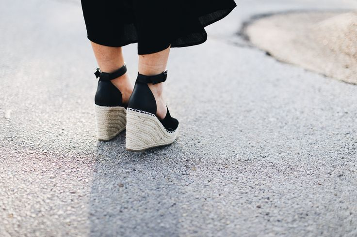 Affordable espadrille wedges