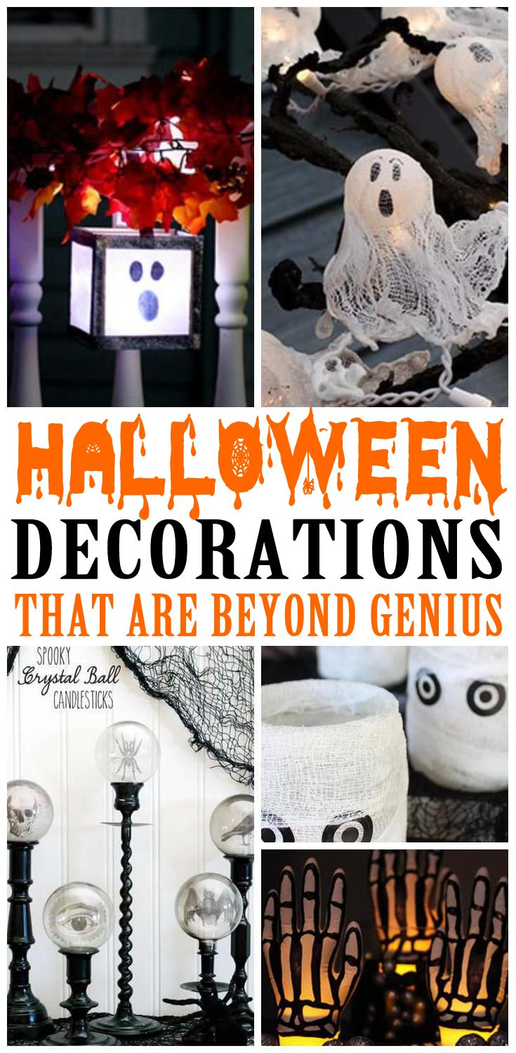 halloween decorations to make your home look creepy and spooky the rh pinterest com
