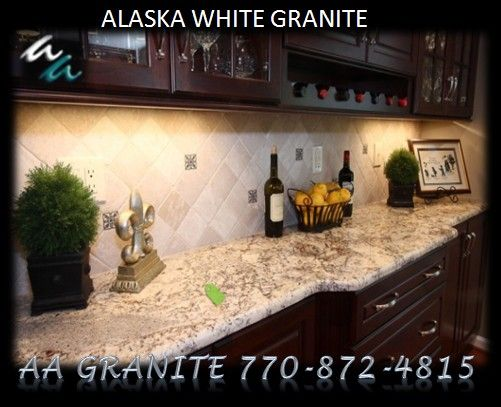 alaska white granite | AA Granite Fabricator Direct dba Andrews & Associates 4235 Steve ...