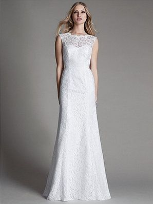 After Six Bridal Style 1050 Is A Sleeveless All Over Lace