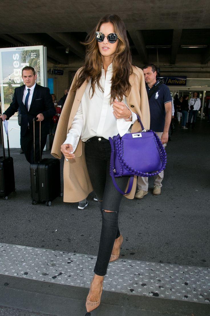 12 Insanely Stylish Celebrity Airport Arrivals - YouTube