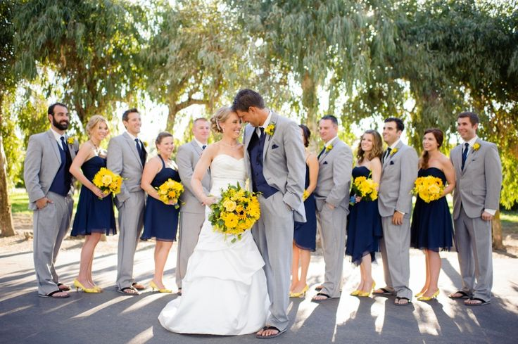 navy and yellow! I especially love the address book idea and the deceased family table!