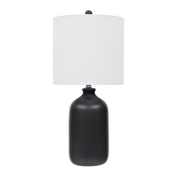 Matte Black Jug Table Lamp Black Table Lamps Table Lamp Lamp