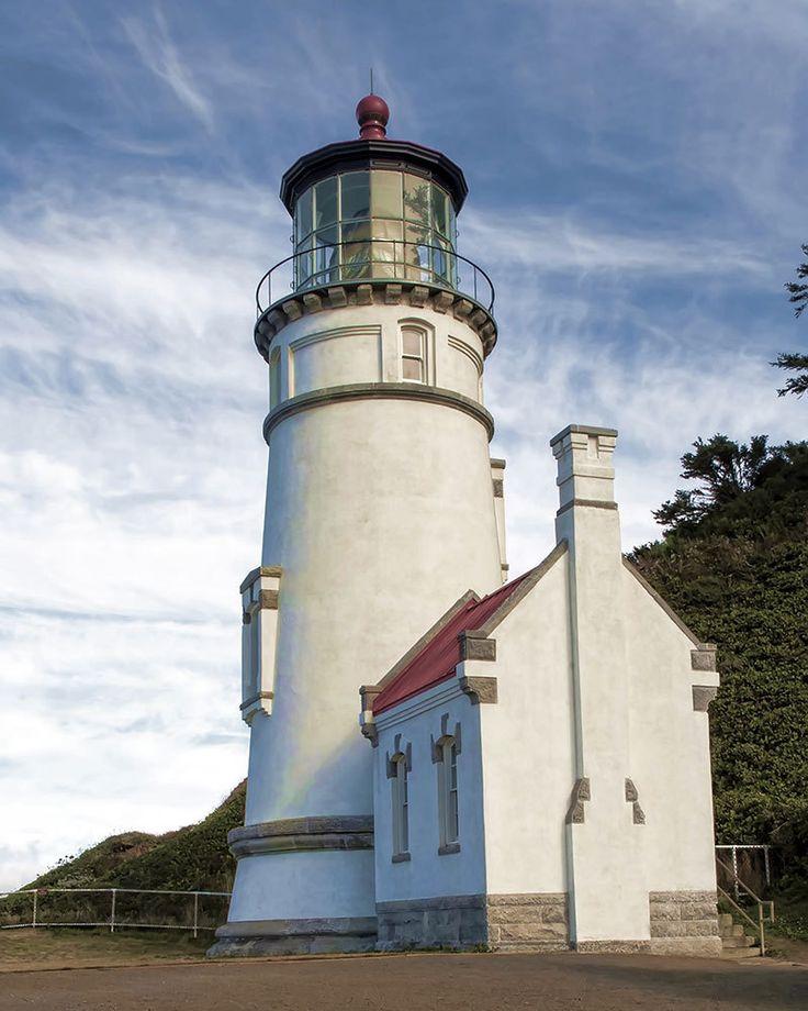 Lighthouse Photo, Oregon Coast Photo, Fine Art Image, Heceta Head Lighthouse Photo, - pinned by pin4etsy.com