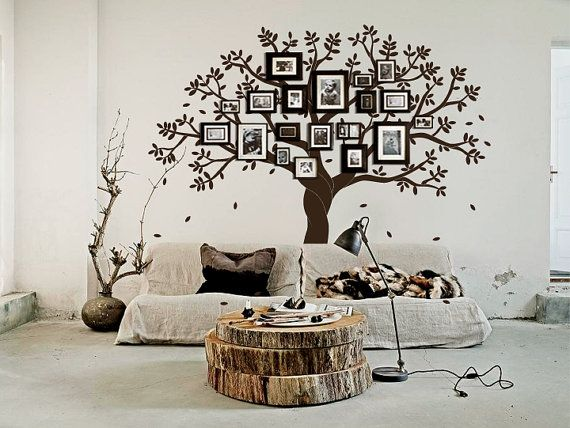 Family Tree Photo Wall 65 best family tree wall ideas- totally doing this in my living