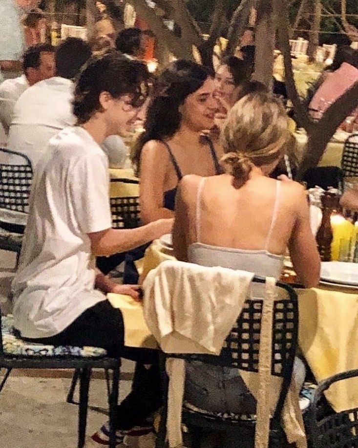 Lily With Timothee And Aerin In Capri Lilyrosedepp Timotheechalamet Lily Rose Depp Lily Lily Rose