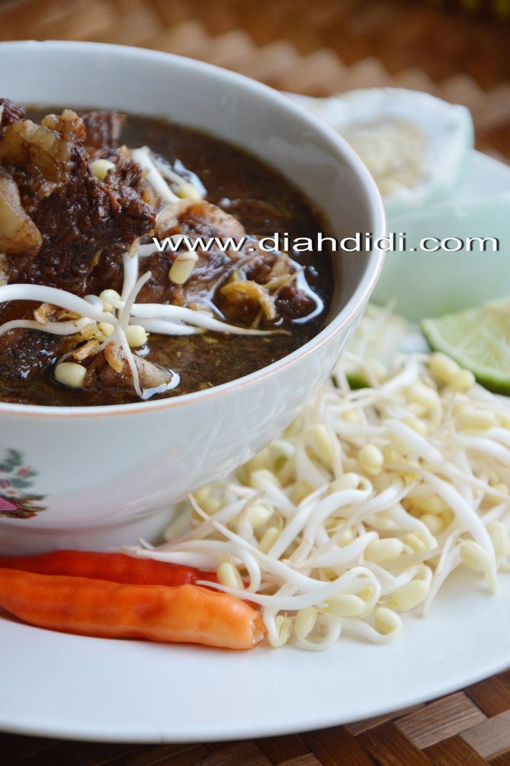 Diah Didi's Kitchen: Inspirasi Menu Buka Puasa Hari ke 21 ..Rawon Iga ( Jawa Timur )