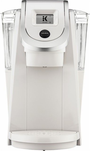 Keurig - K200 Single-Serve K-Cup Pod Coffee Maker - Sandy Pearl - Front_Zoom