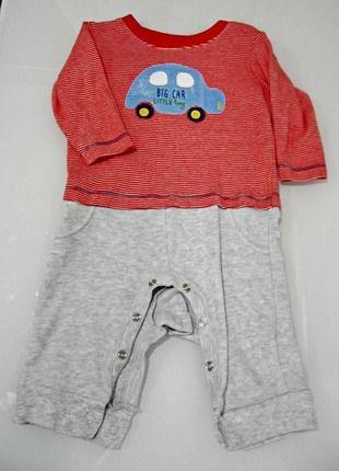 Kupuj mé předměty na #vinted http://www.vinted.cz/deti/miminka-chlapecek/12191300-pekny-sede-cerveny-overalek-pro-miminko