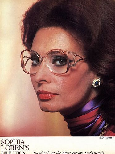 old movie stars with Glasses | Besides, I always liked those old glasses. There was something about ...