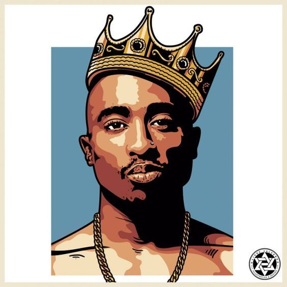 Tupac Shakur Tupac art, Rapper