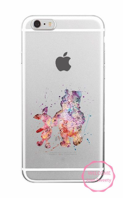 Water colors Soft TPU Apple iPhone Case