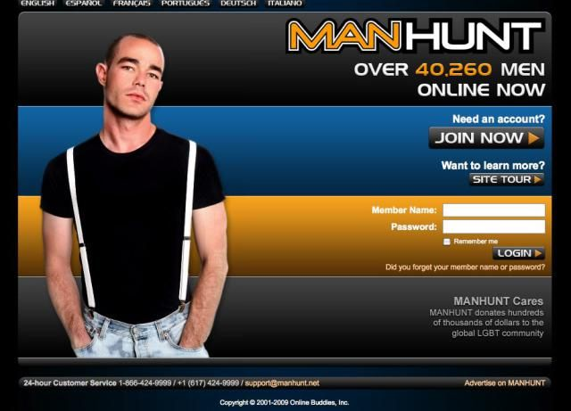 manhunt dating site