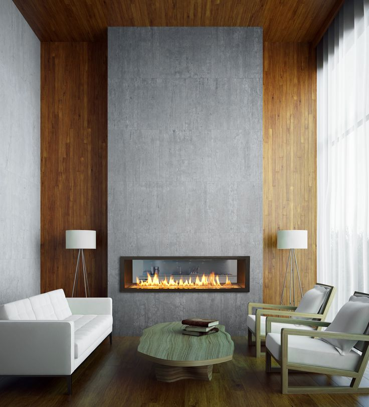 Town & Country Linear Fireplace