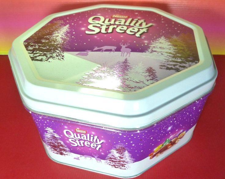 Nestle Quality Street Chocolate LUXURY FESTIVE tin