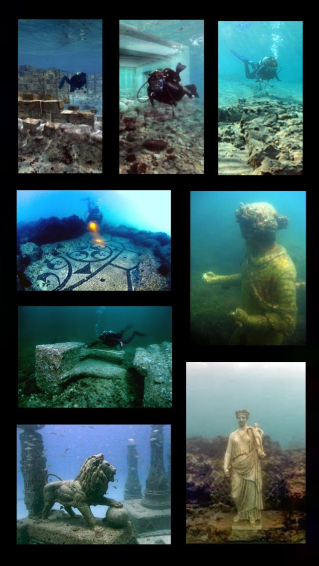 City Beneath The Waves: Pavlopetri - Amazing discoveries.