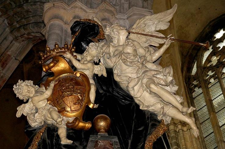 Mathias Bernard Braun - Detail from Leopold Slik's tomb(1723),Prague-St.Vitus cathedral