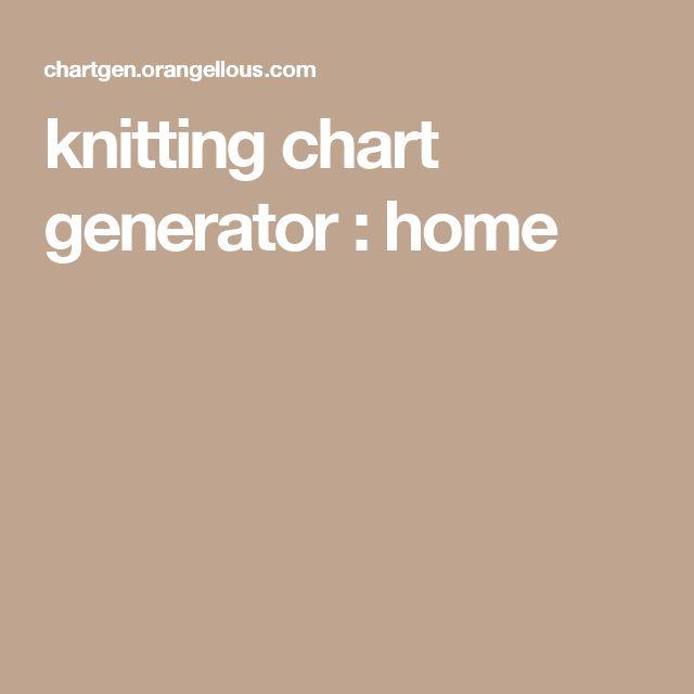 238 best Charts - Knitting/Crochet images on Pinterest | Crochet ...