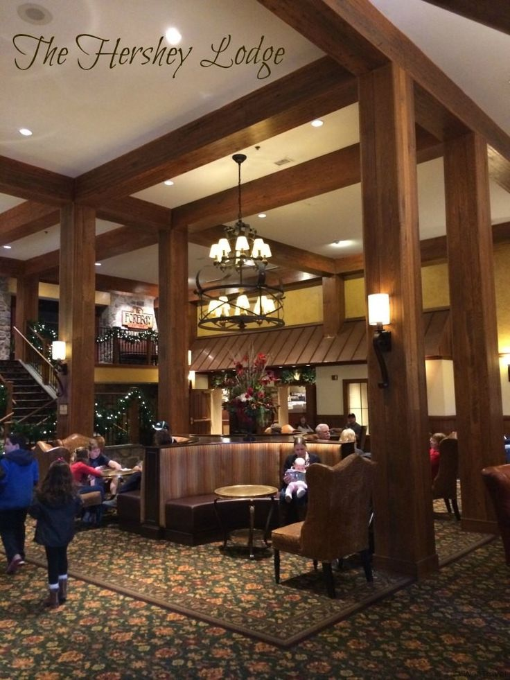 Staying at a Hershey property is much like staying at a Disney resort, except instead of Mickey ears, you find Hershey Kisses everywhere, including on your pillow. Learn more about our stay at the Hershey Lodge (Hotel Review).