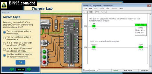 The only PLC simulator in the world that teaches PLC troubleshooting. Download today!
