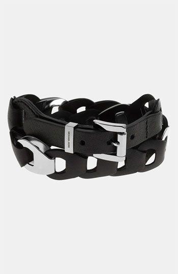Michael Kors 'Equestrian Luxury' Leather Wrap Bracelet available at #NordstromKors Bracelets, Bracelets Jewelry, Equestrian Luxury, Michael Kors, Luxury Equestrian, Link Luxury, Kors Link, Leather Wraps Bracelets, Equestrian Leather