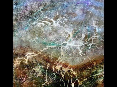 ▶ Abstract landscape / lightning, Abstrakte Landschaft / Blitz, 1 - YouTube