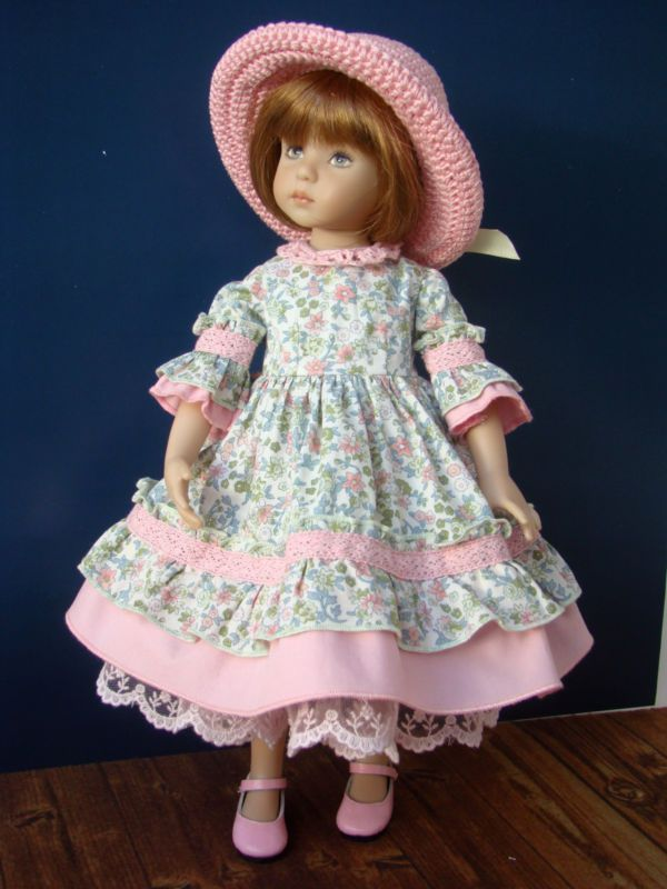 """Outfit for doll 13"""" Little Darling by Dianna Effner"""
