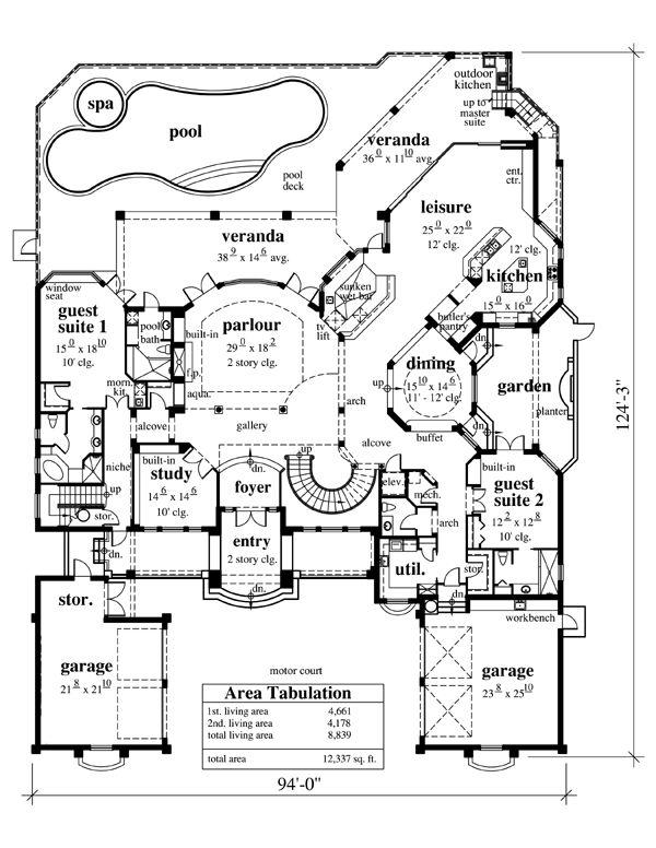 Unique House Plans With Secret Rooms Unique Floor Plans