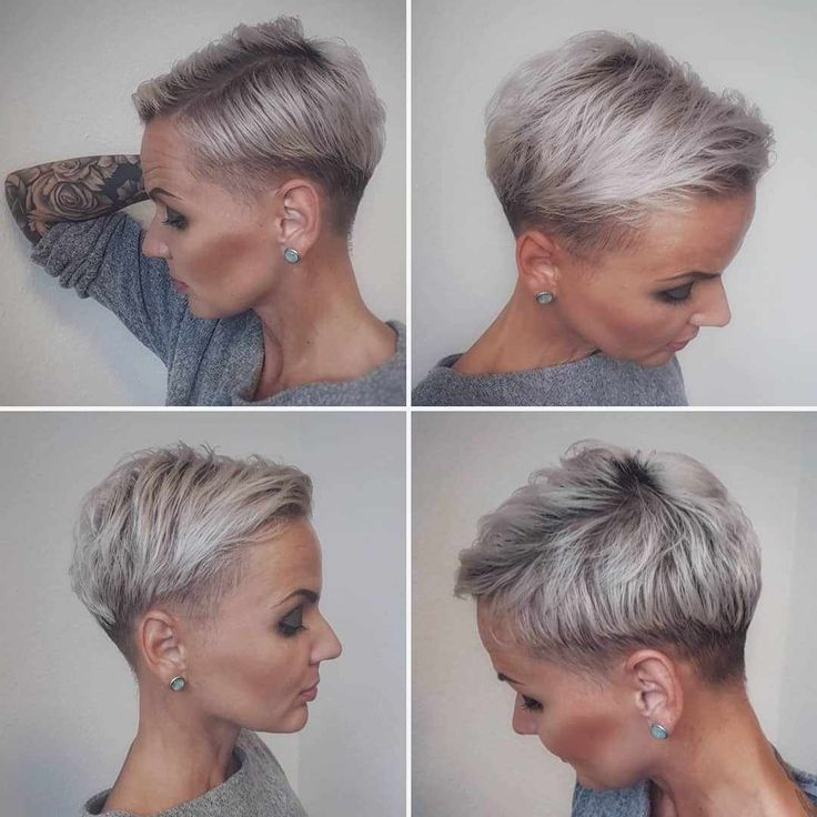 25+ Best Short Pixie and Bob Hairstyles 2019 – Pixie and Bob Haircuts for Women #haircolor #hairstyle #haarfarbe #frisuren