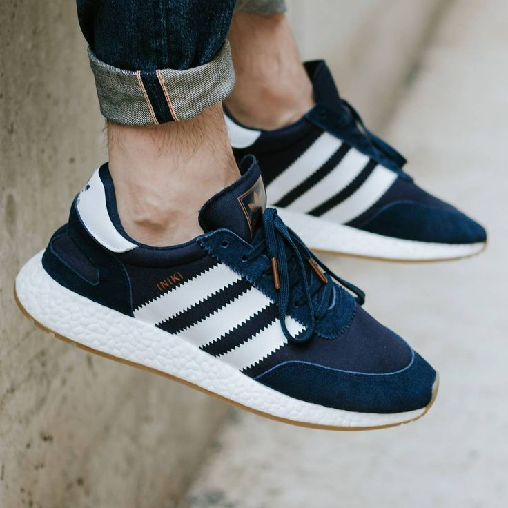 Adidas Iniki Runner Boost - Collegiate Navy - 2017 (by _thedl)