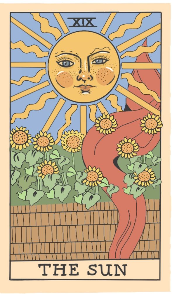 vintage tarot cards poster prints