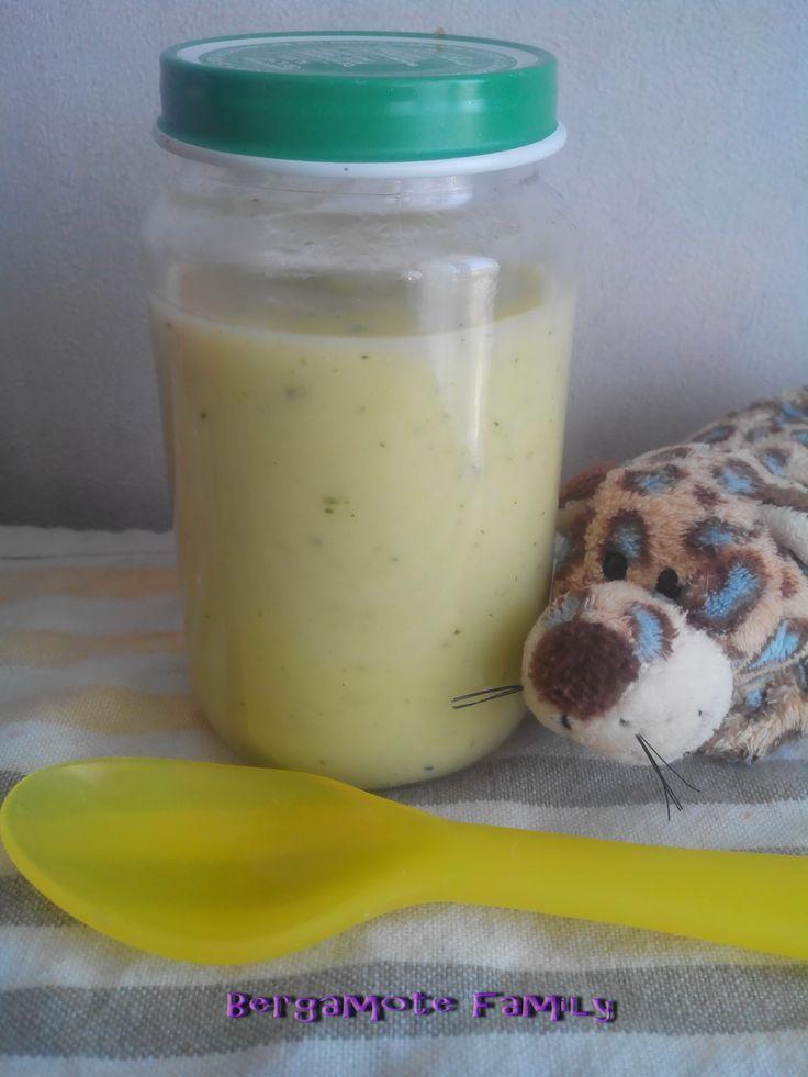 Dinde à la purée de courgette et fenouil (dès 6 mois) - Bergamote Family