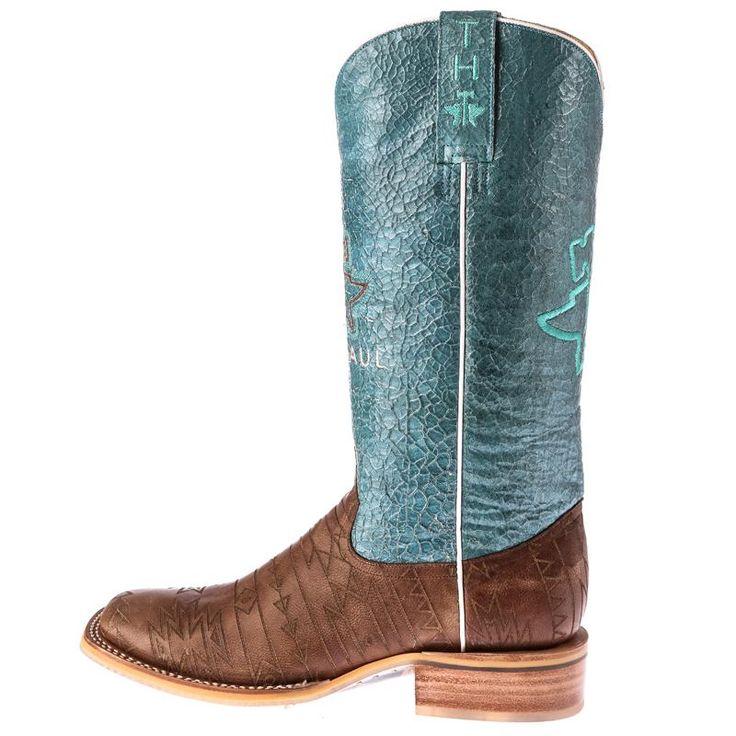 Shop Women's Tin Haul Aztek Brown Cowgirl Boots
