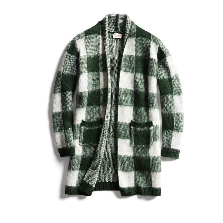 Stitch Fix Fall Stylist Picks: Plaid brushed cardigan