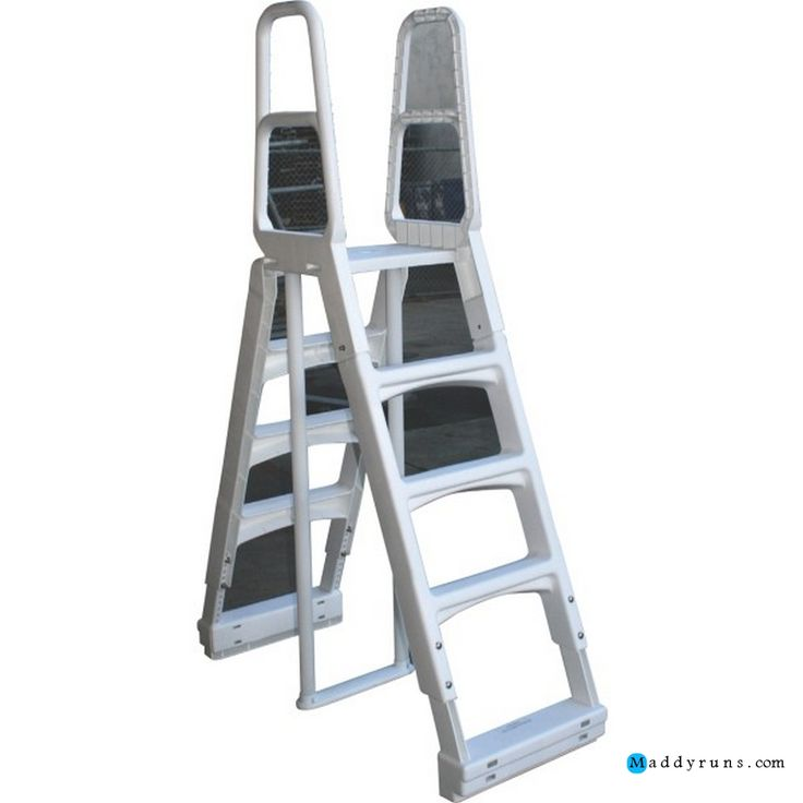 Swimming pool swimming pool ladders for above ground pools for Pool ladder