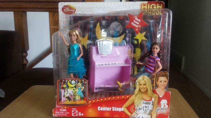 DISNEY HIGH SCHOOL MUSICAL CENTER STAGE PLAY SET (NIB) BARBIE SKIPPER SIZE